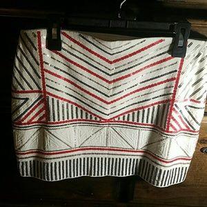 Express mini skirt.